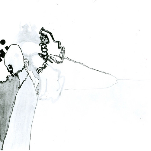 Mujer con collar. París, 1965