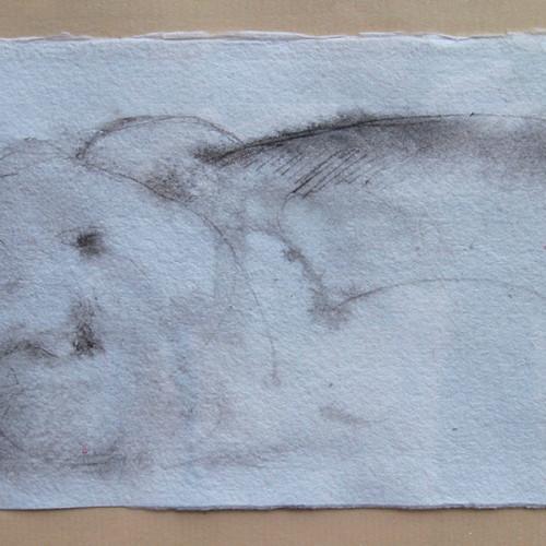 Mujer tumbada. Piedralaves, 2007